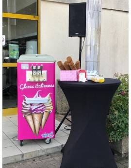 Location machine de glace à l'italienne