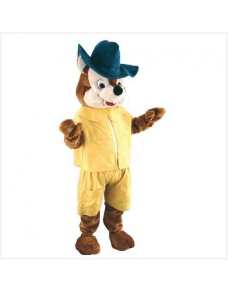 Location mascotte écureuil