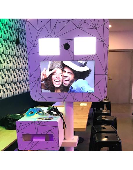 Location de borne photo selfie