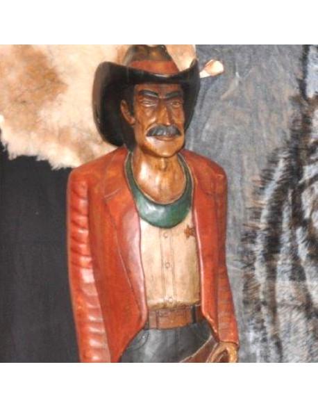 Location statue Cow-Boy