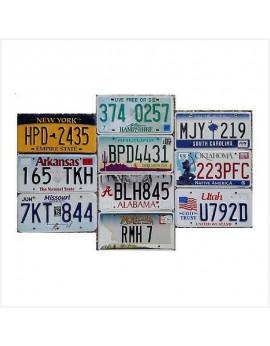 Décoration plaques américaines - western