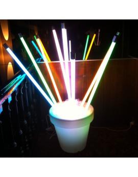 Location tube néon à LED décoration lumineuse pour soirée