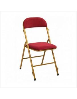 Location de chaises pliantes velours