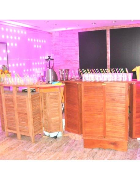 Location bar en bambou