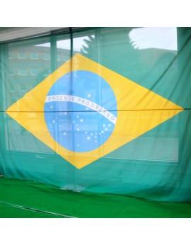 Location drapeau du Brésil
