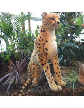 Léopard en peluche