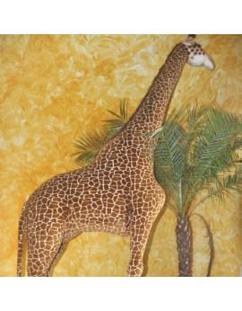 Girafe en peluche