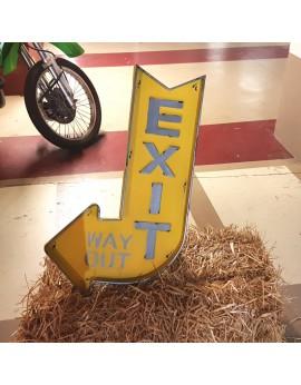 Plaque EXIT