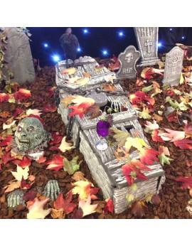 Création d'un cimetière
