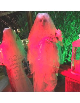 Location mannequin mariée halloween articulée