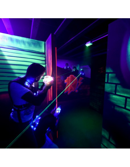 Animation laser game