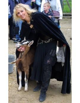 Esméralda et sa chèvre