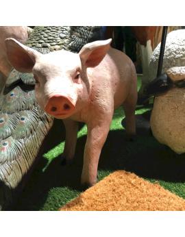 Cochons en résine