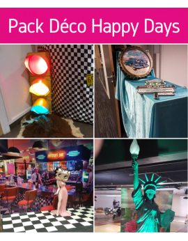 Forfait pack déco happy days