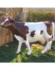 Vache à traire en résine