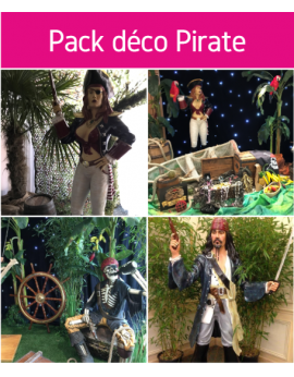 Forfait pack déco pirate