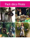 Forfait pack déco pirate