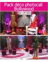 Forfait pack déco photocall Bollywood