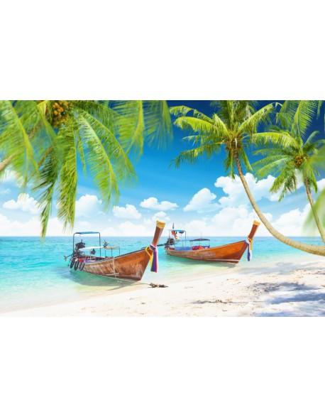 Bâche décors plage