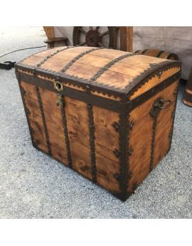 Grande malle en bois