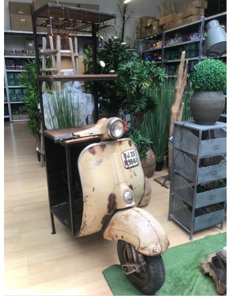 Bar avant de scooter