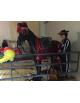 Cheval en résine costume espagnol