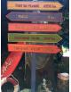 Panneau directions