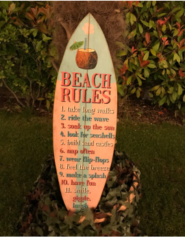 Planche de surf Beach Rules
