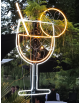 Lampe néon cocktail lumineux