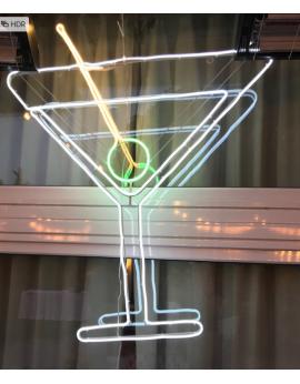 Néon lampe cocktail lumineux