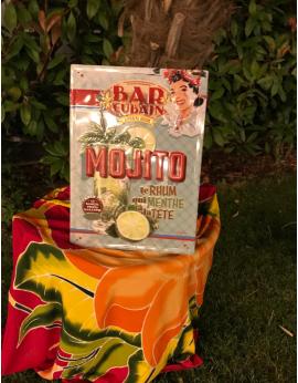 Plaque Bar Cubain Mojito