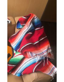 Tissus colorés mexicains