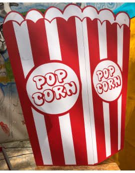 Pancarte pop corn