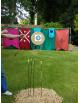 Stand de tir à l'arc médiéval