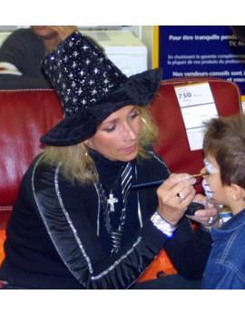 Maquillage et artifices halloween