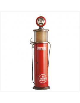 Lampe pompe à essence route 66