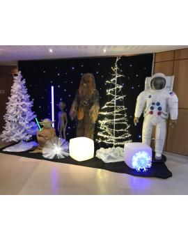 Installation décors Star Wars
