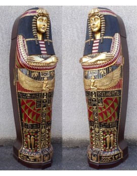 Sarcophage reine Egyptienne