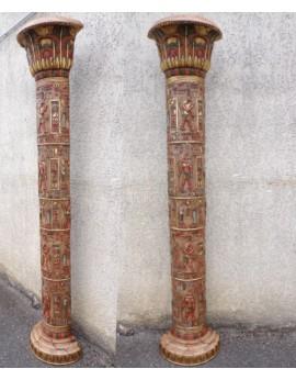 Demi colonne Egyptienne