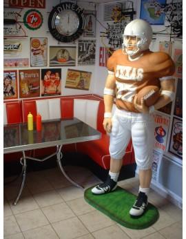 Statue Footballeur Américain