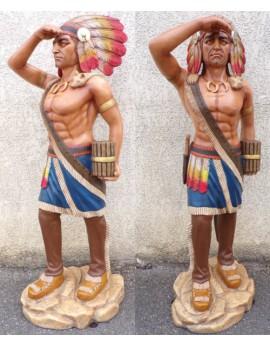 Statue Indien guetteur