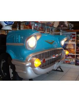 Bar avant de Chevrolet Bel air bleu