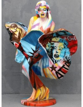 Statue Marilyn pop art