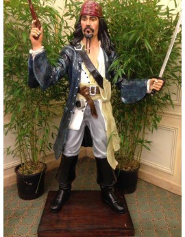 Location statue Jack Sparrow