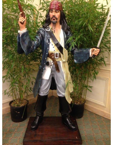Location statue Jack Sparrow