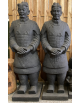 Samouraï mains croisées