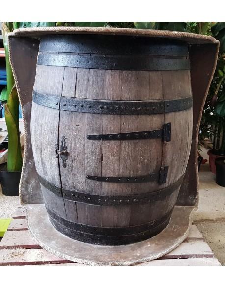 Bar tonneau en bois