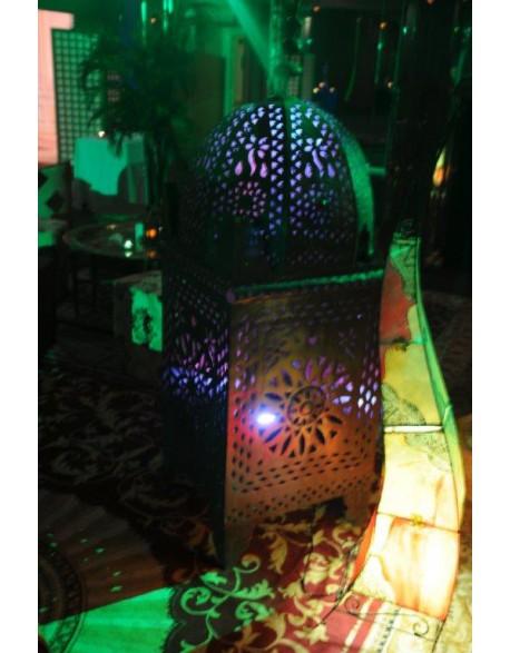 Location lampe fer forgé orientale
