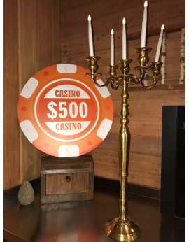 chandelier argent