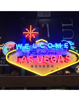 Néon Welcome to Las Vegas